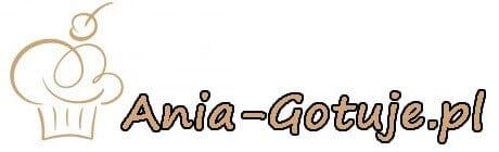 Blog kulinarny Ania gotuje. Logo.