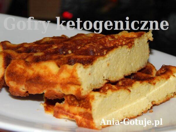gofry ketogeniczne mascarpone mąka kokosowa