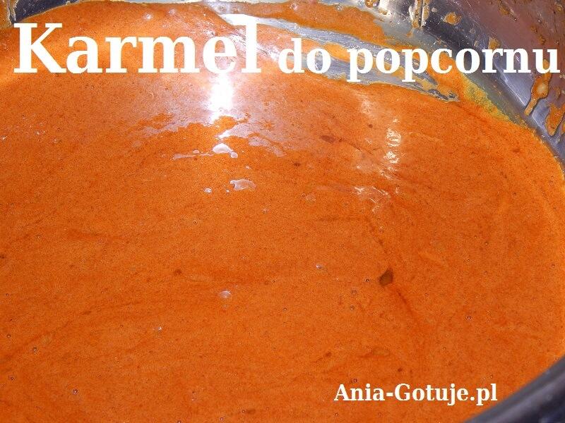 Karmel do popcornu