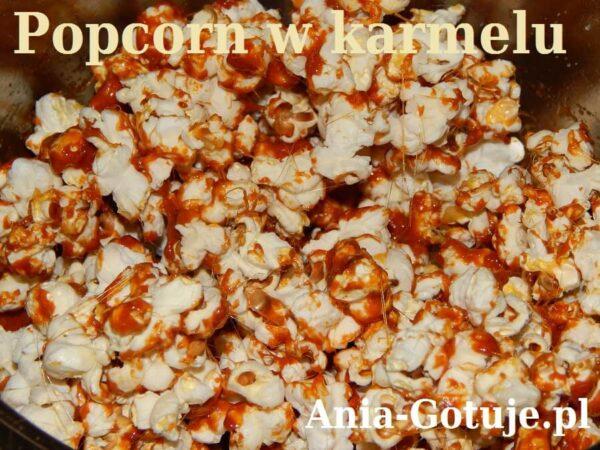 pyszny karmel do popcornu