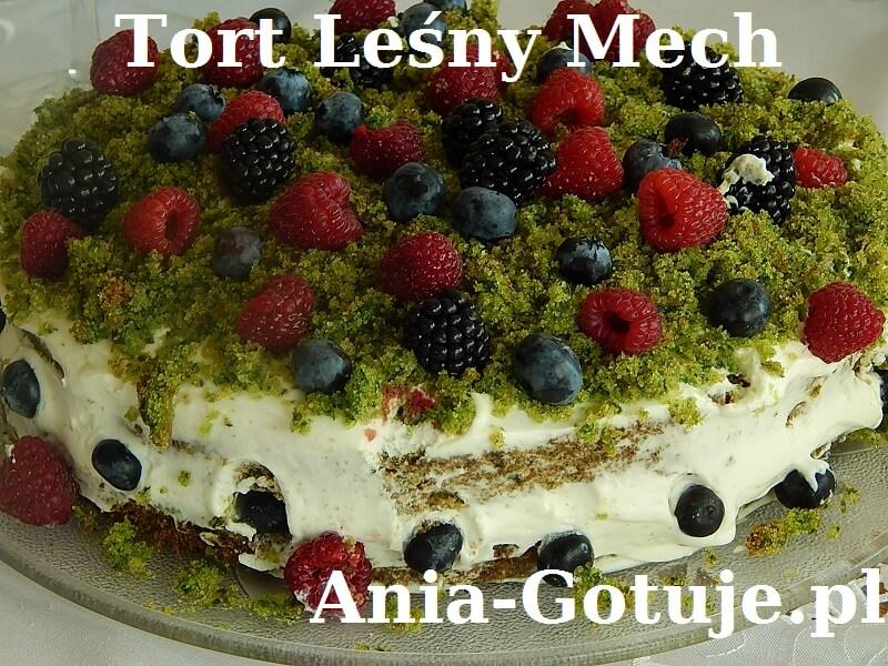 Tort Zielony Mech