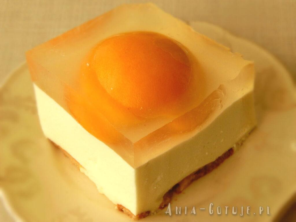 wielkanocne ciasto jajko sadzone