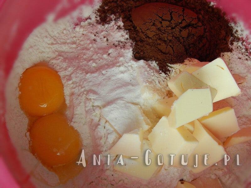składniki na kruche ciasto