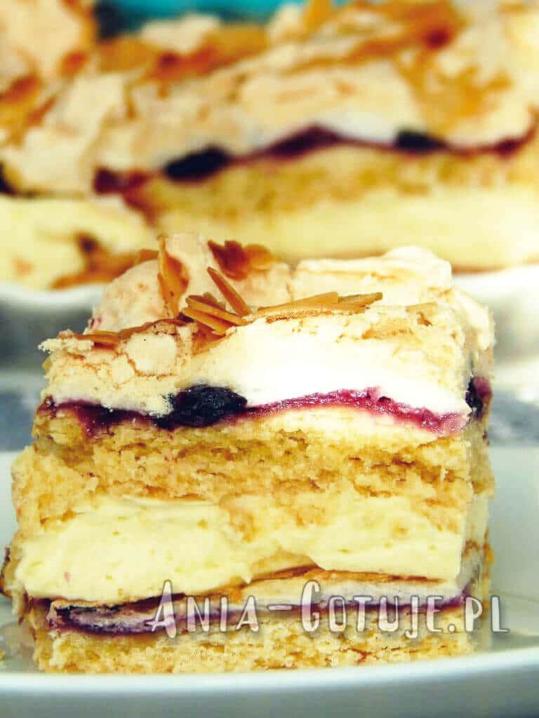 ciasto pani walewska pionowe