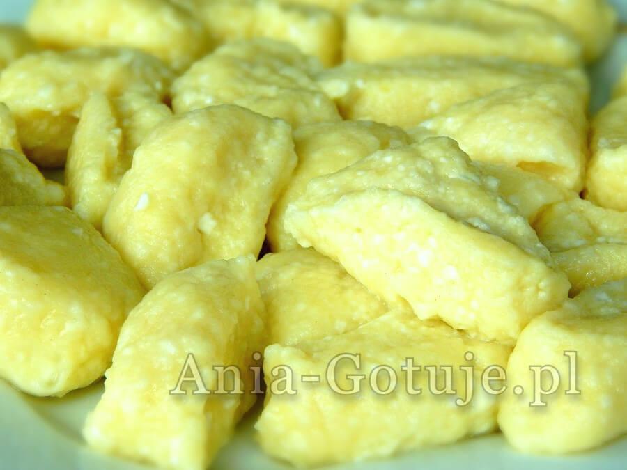 kopytka z serem