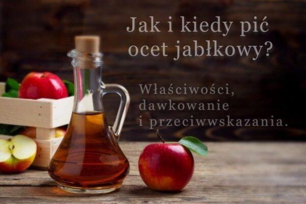 jak i kiedy pić ocet jabłkowy na odchudzanie