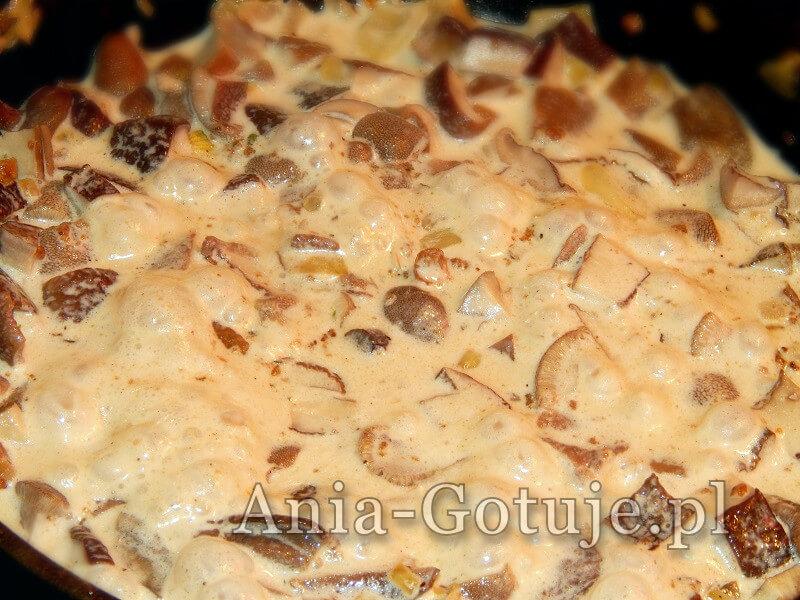 sos z grzybów leśnyh